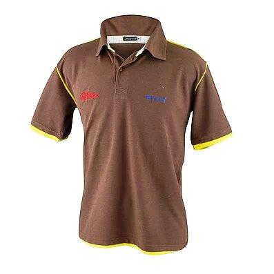 Polo bordada uniforme