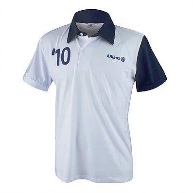 Polo bordada uniforme