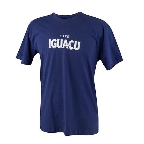 Camiseta Promocional Básica, Exclusiva, na Cor Azul Marinho, Personalizada com Silk Screen, Uniforme