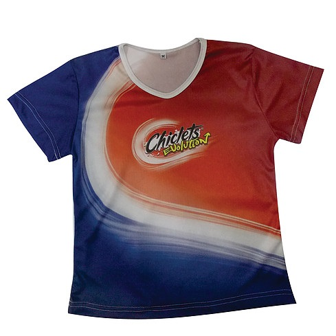 Camiseta Promocional com estampa sublimática, Uniformes para Empresas