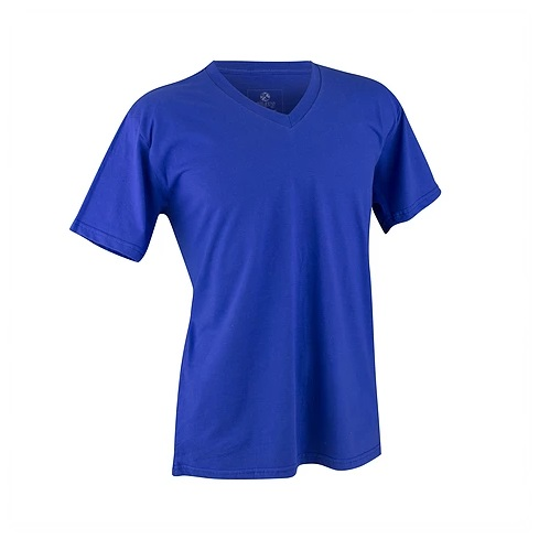 Camiseta Promocional, Decote V, Disponível em várias Cores,Uniformes para Empresas